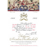 CHÂTEAU MOUTON ROTHSCHILD 1968