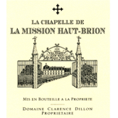 LA CHAPELLE DE LA MISSION HAUT BRION 1991